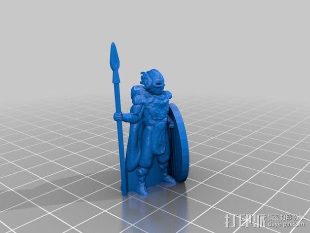 米德加德典狱长 3D模型  图2