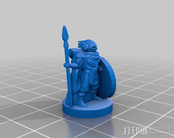 米德加德典狱长 3D模型  图11