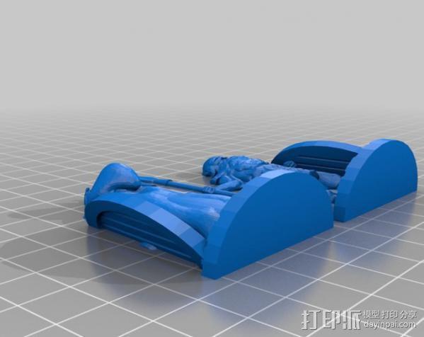 米德加德典狱长 3D模型  图10