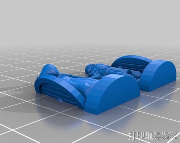 米德加德典狱长 3D模型  图12