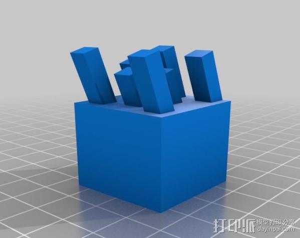 我的世界Ghast模型 3D模型  图3