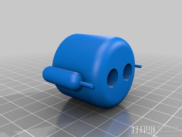 安卓机器人 3D模型  图4