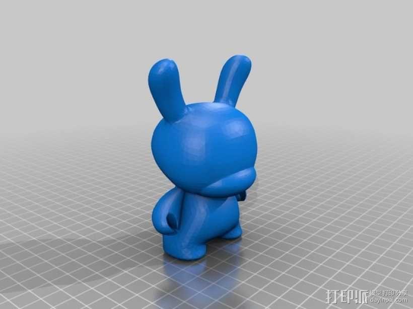 Dunny玩偶 3D模型  图2