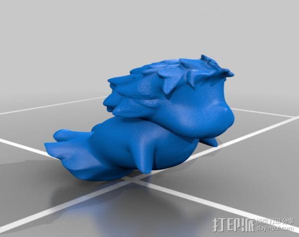 波妞 金鱼公主 3D模型  图2