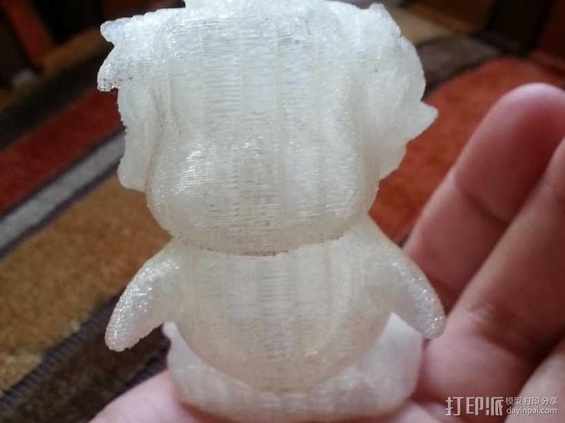 波妞 金鱼公主 3D模型  图6