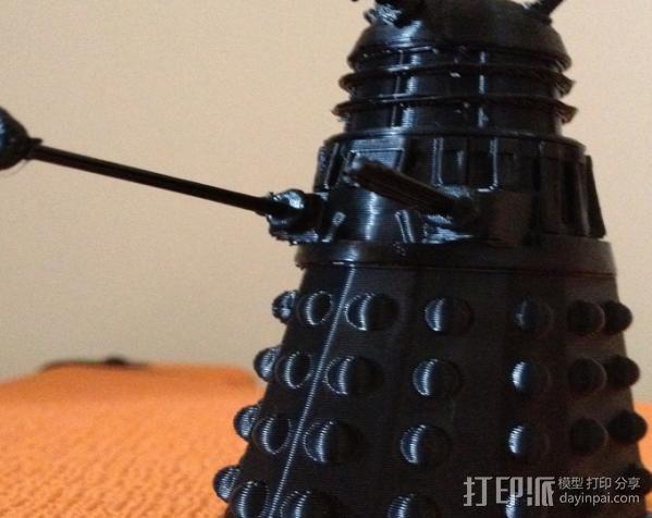 Dalek 戴立克机器人 3D模型  图2