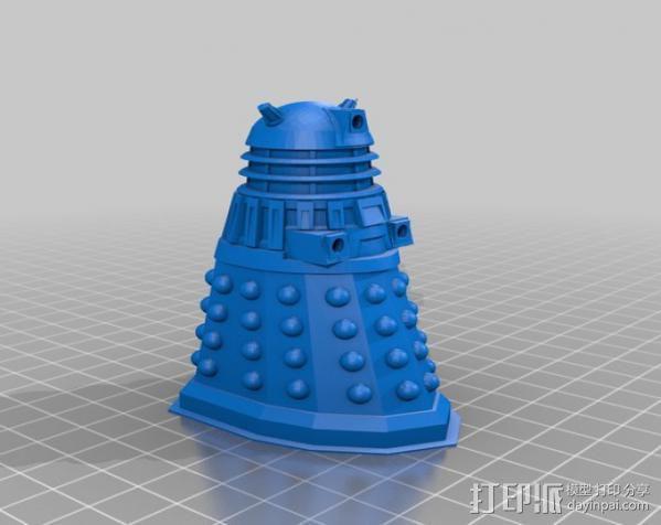 Dalek 戴立克机器人 3D模型  图3