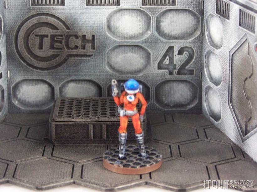 女宇航员 玩偶 3D模型  图1