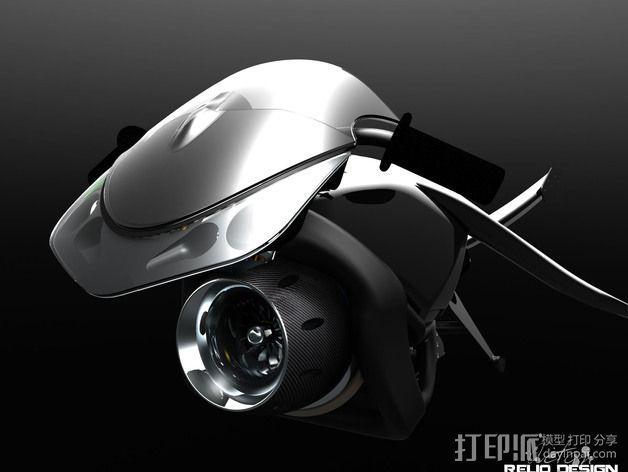 未来机车 3D模型  图1