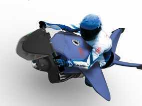 未来机车 3D模型