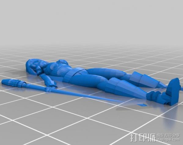 Iolanda Jan Lagunov人偶模型 3D模型  图1