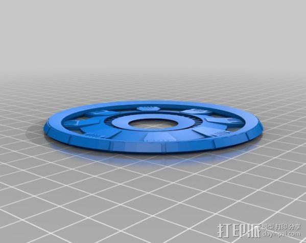 钢铁侠能量环 3D模型  图4