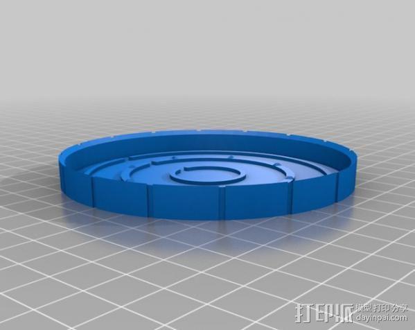 钢铁侠能量环 3D模型  图5