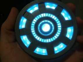 钢铁侠能量环 3D模型