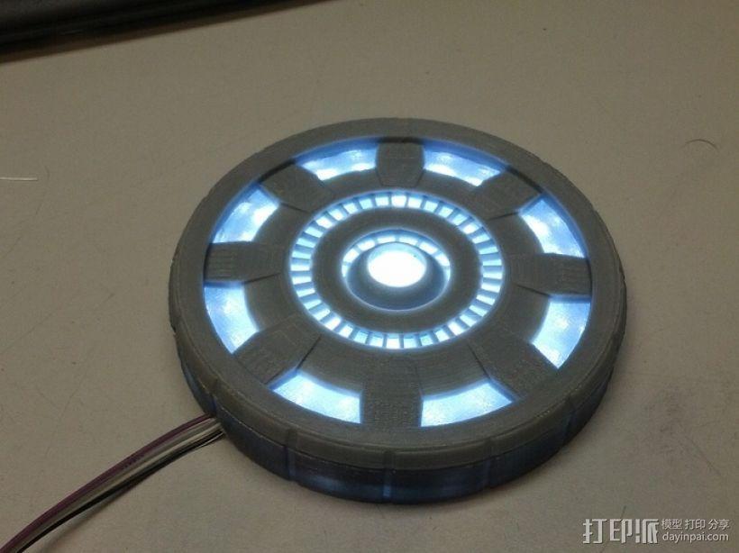 钢铁侠能量环 3D模型  图9