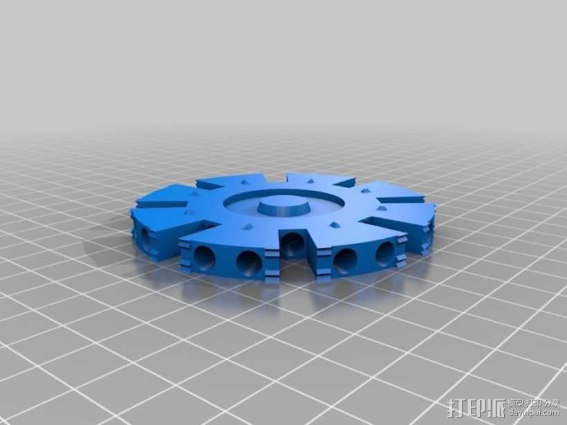 钢铁侠能量环 3D模型  图10