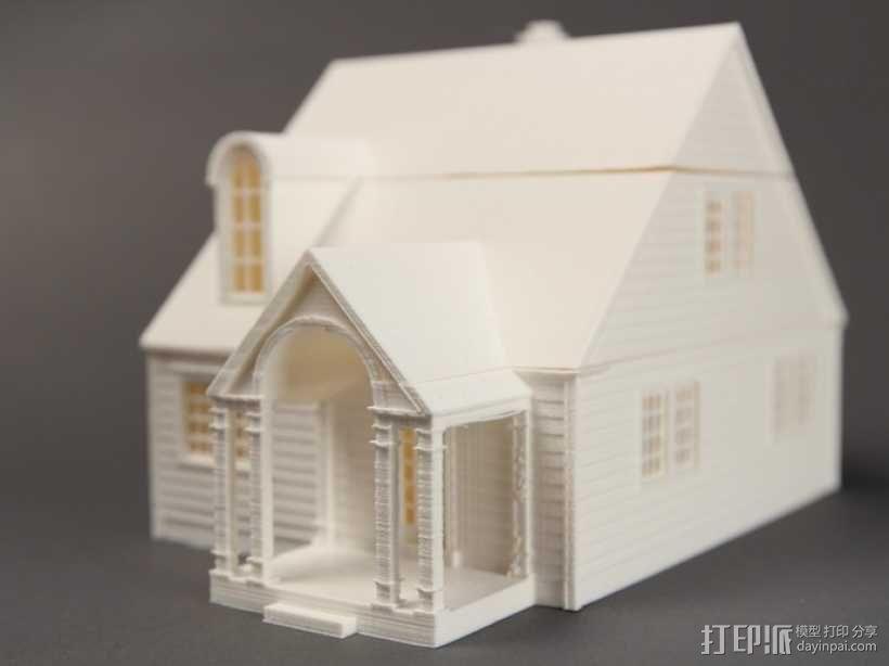 Lorain洛雷恩的房子 3D模型  图3