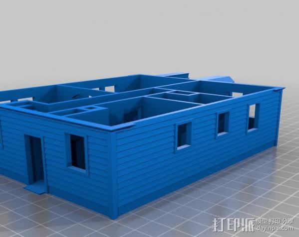 Lorain洛雷恩的房子 3D模型  图2