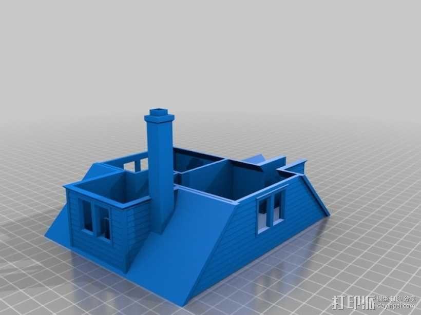 Lorain洛雷恩的房子 3D模型  图6
