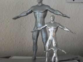 银影侠  3D模型