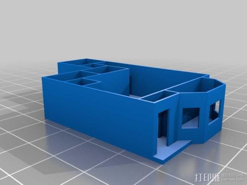 公寓 房屋结构 3D模型  图1
