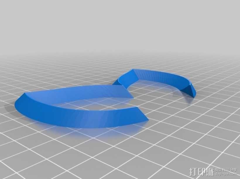马自达Evil 标志 3D模型  图1