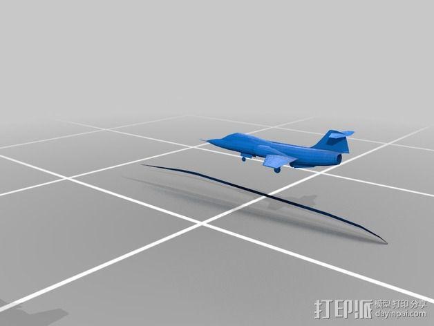 星际战斗机 3D模型  图1