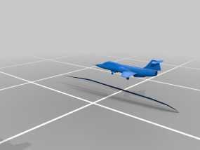 星际战斗机 3D模型