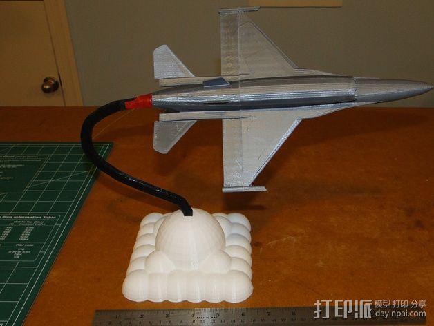 F16 飞机支架 3D模型  图6