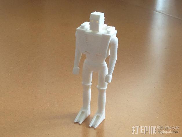 Spaceknight机器人 3D模型  图5