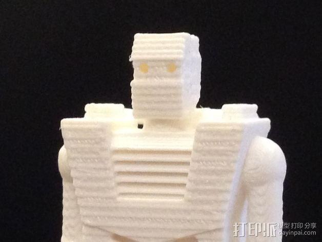 Spaceknight机器人 3D模型  图4