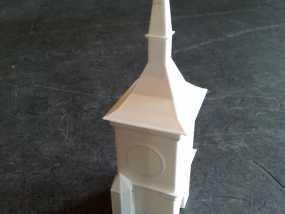 伯尔尼 时钟塔 3D模型