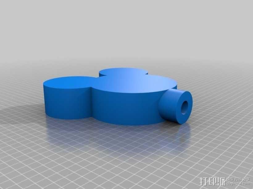 游戏人物夜灯 3D模型  图6