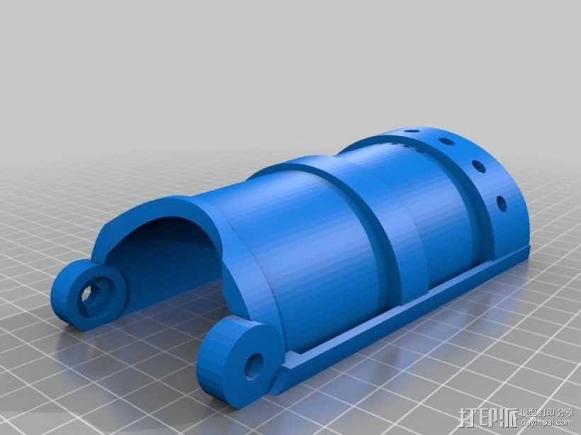 长手套 护臂 3D模型  图1