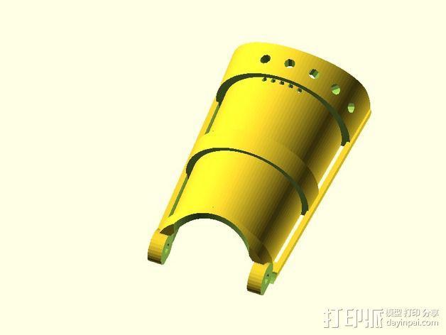 长手套 护臂 3D模型  图2