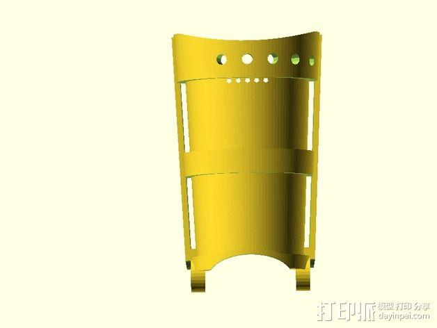 长手套 护臂 3D模型  图4