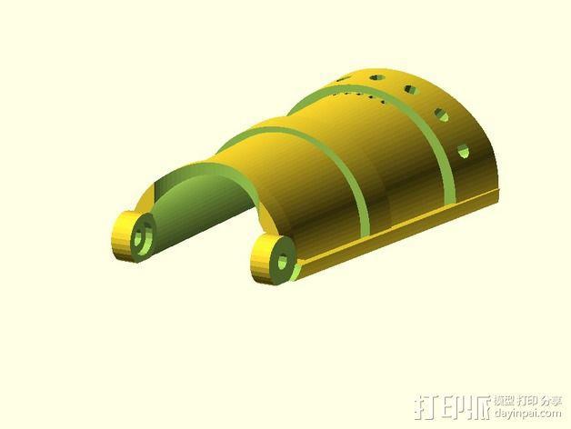 长手套 护臂 3D模型  图5