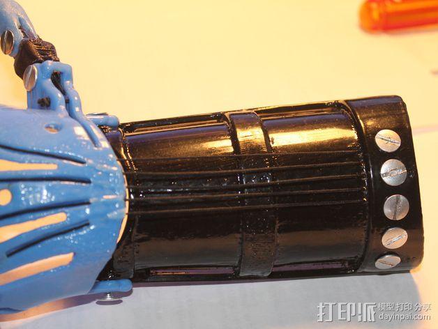 长手套 护臂 3D模型  图8