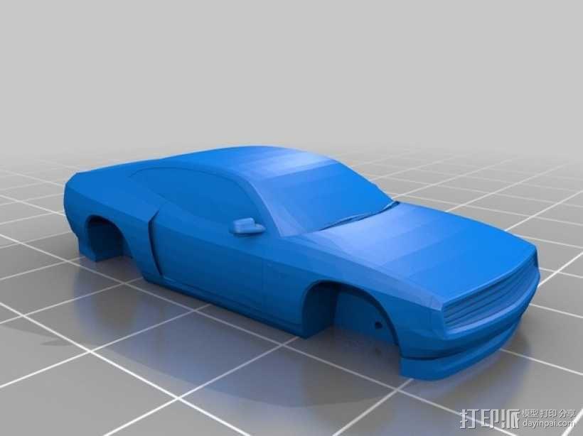Rogue Falcon汽车 3D模型  图1
