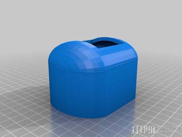 PKE Meter遥控钥匙保护套 3D模型  图1