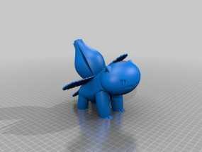 妙蛙花 3D模型