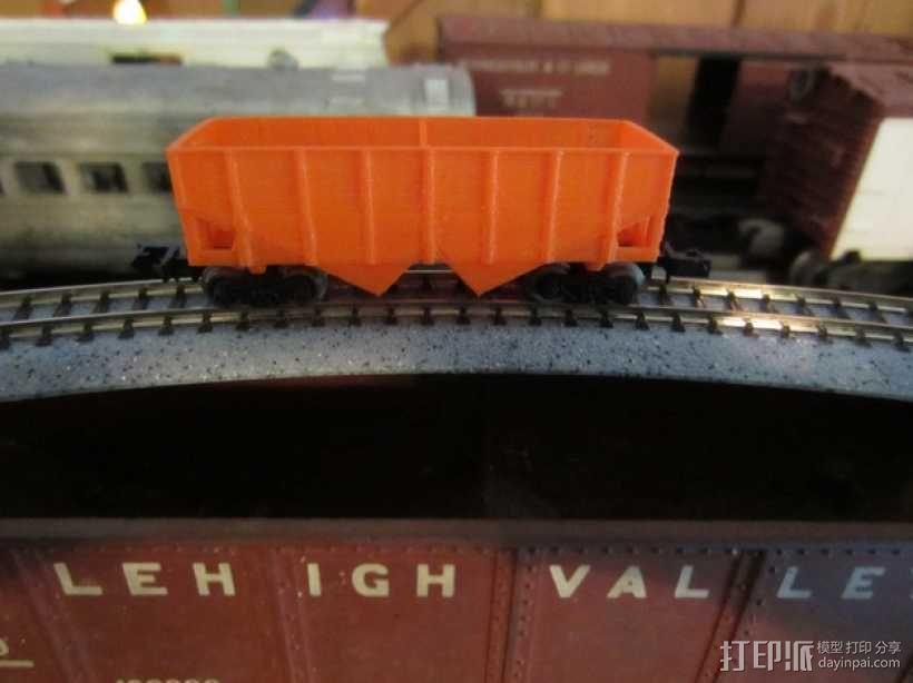 漏斗车 3D模型  图1