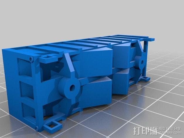 漏斗车 3D模型  图2