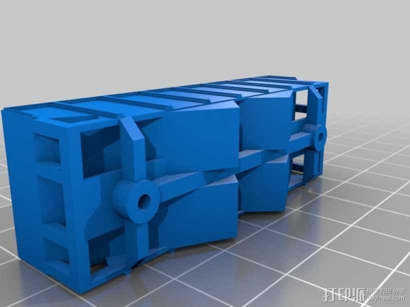 漏斗车 3D模型  图5
