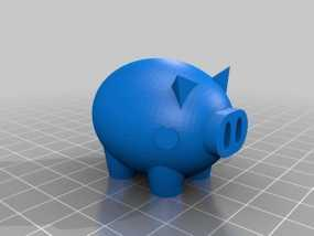 Puerco小猪 3D模型