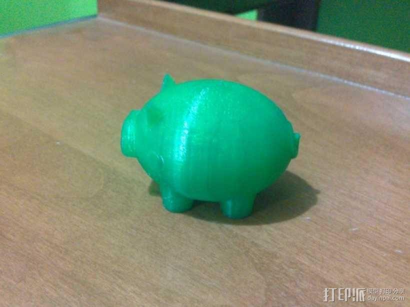 Puerco小猪 3D模型  图3