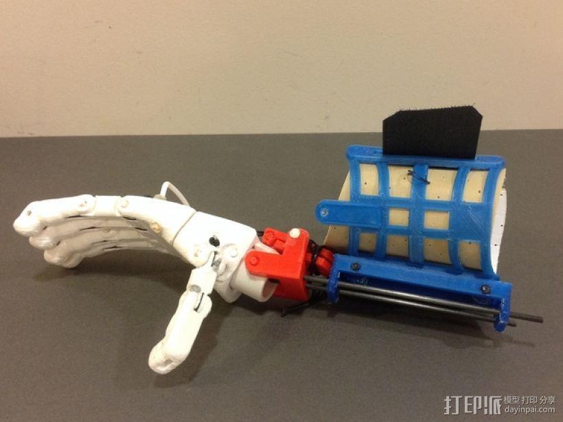 假肢 手  3D模型  图1