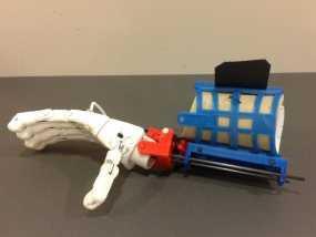 假肢 手  3D模型