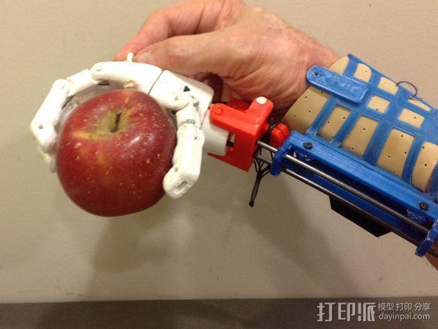 假肢 手  3D模型  图4