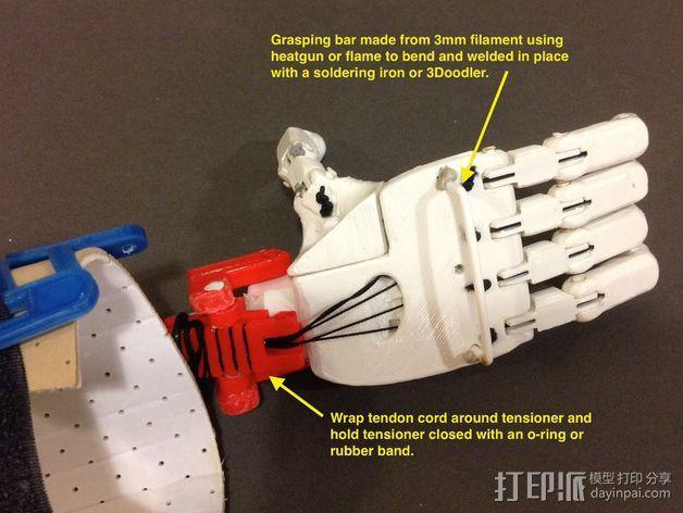 假肢 手  3D模型  图3